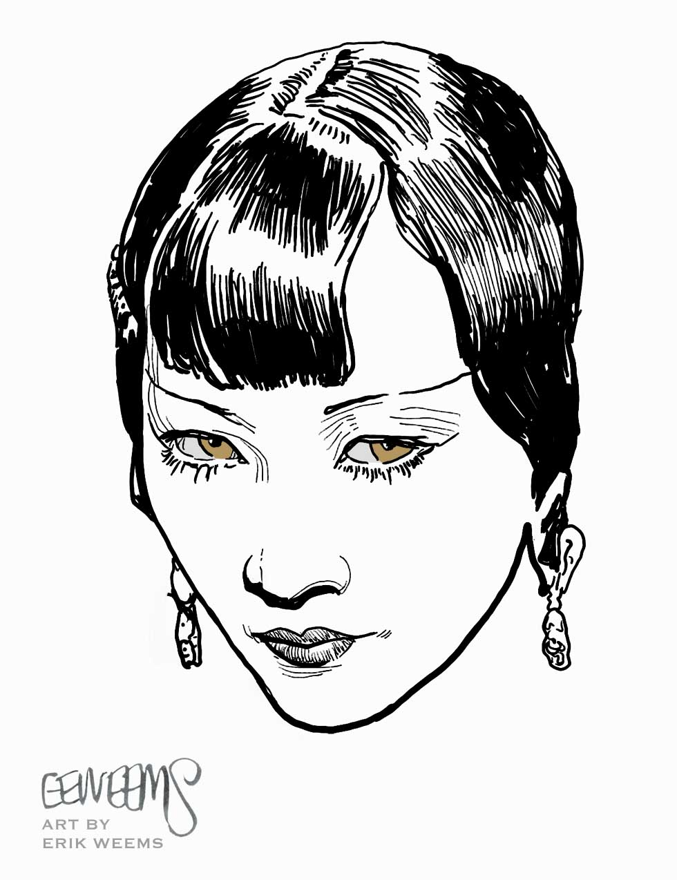 Anna MAY WONG - image by Erik Weems