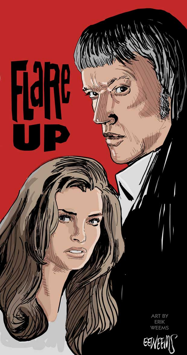 Flare Up - 1969 - art by Weems