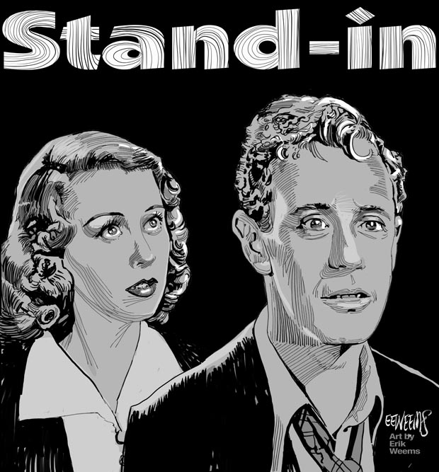 Stand In 1937 - Leslie Howard and Joan Blondell