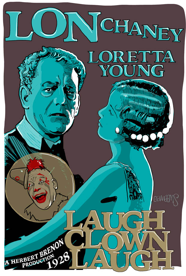 Lon CHaney Laugh CLown Laugh with Lorretta Young