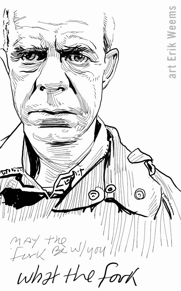 William H Macy - Art by Weems